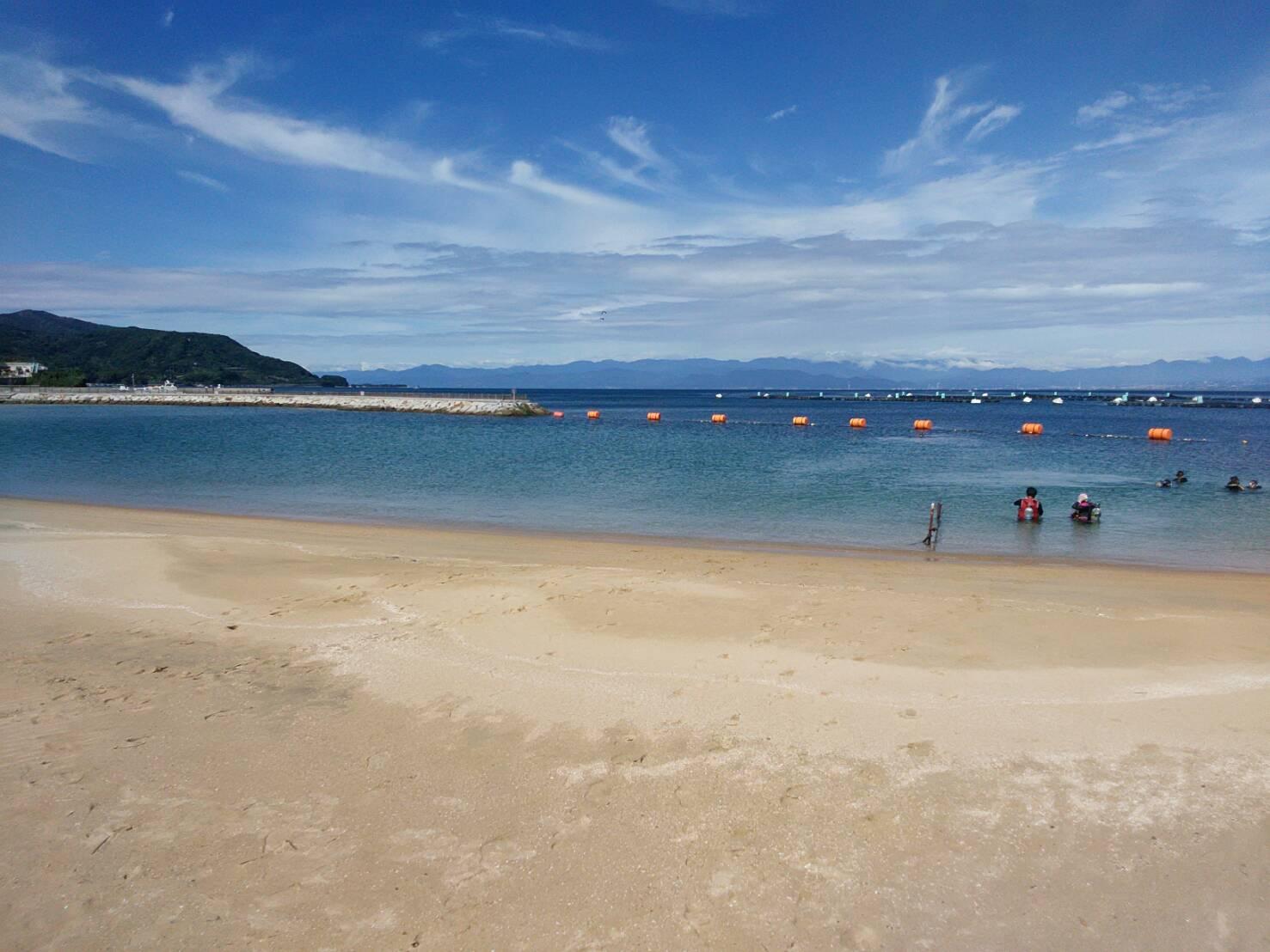 海が青くて最高でした〜(^^)♪